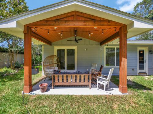 33 COVERED PATIO
